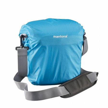 Mantona Fotorugzak Elements Outdoor & Cameratas, Blauw