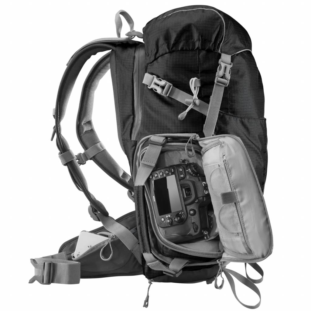 ... mantona Camera Backpack Elements Outdoor with Camera Bag ...
