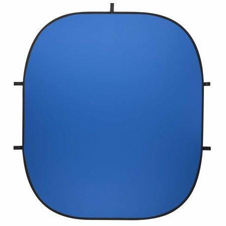 Walimex Pro Opvouwbare Achtergrond 200 x 230 Blauw /Groen