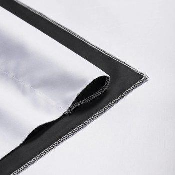 Walimex Pro Achtergrond Doek voor studio fotografie 2 in 1/  2,85x6m Zwart / Wit