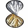 Walimex Opvouwbaar Reflectiescherm Dubbele Zilver/Goud, 30cm