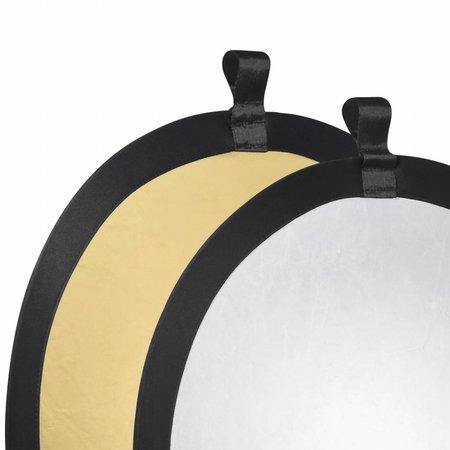 walimex Faltreflektor gold/silber, Ø56cm