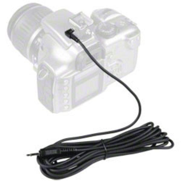 Walimex Sync-kabel 420 cm met telefoonaansluiting 3,5 mm