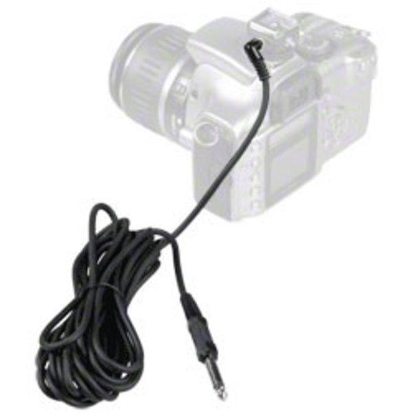 Walimex Sync-kabel 420 cm met telefoonaansluiting 6,3 mm