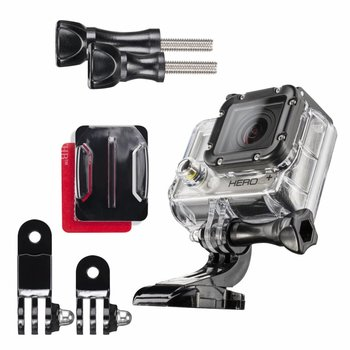 Mantona GoPro Helm mounting Set