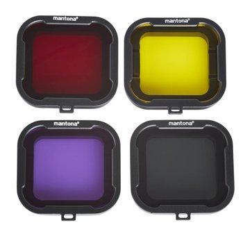 Mantona GoPro Filter Set 4-coloured for Hero 4/3