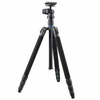 Mantona Camera Tripod with Ball Head SG-350 Black 168cm