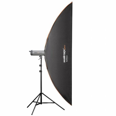 walimex pro Softbox Plus Orange Line 60x200