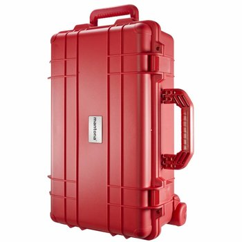 mantona Outdoor Photo & Studio Protective Trolley, red