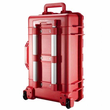 mantona Outdoor Foto & Studio Koffer Trolley rood
