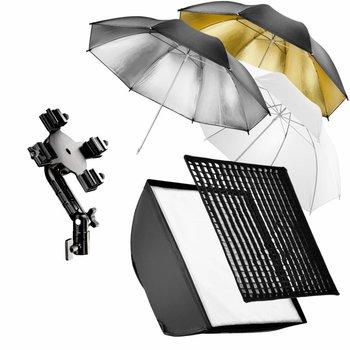 Walimex Quad Flash Holder, SB, Umbrella Set