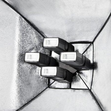 Walimex Quad Flitshouder, SB, Paraplu Set