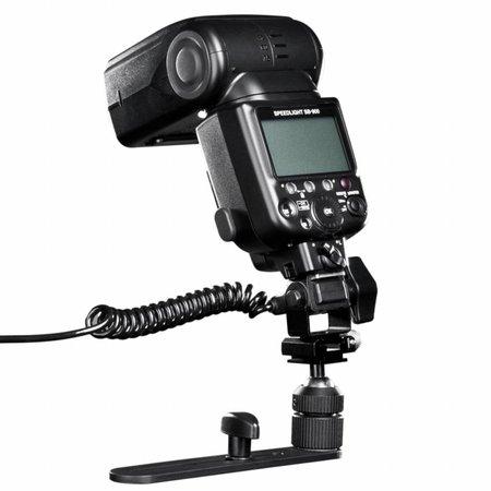 Walimex Macro FlitsRail Pro met Y Kabel voor Panasonic
