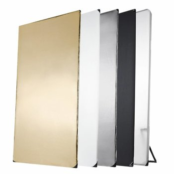 Walimex Reflectiescherm Paneel 5in1, 1x2m