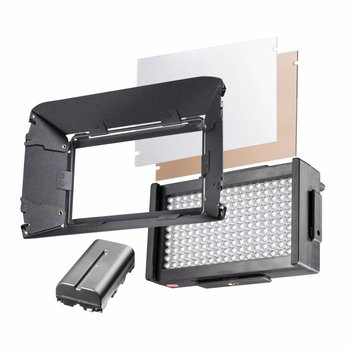 walimex pro LED Foto & Video Square 170 B
