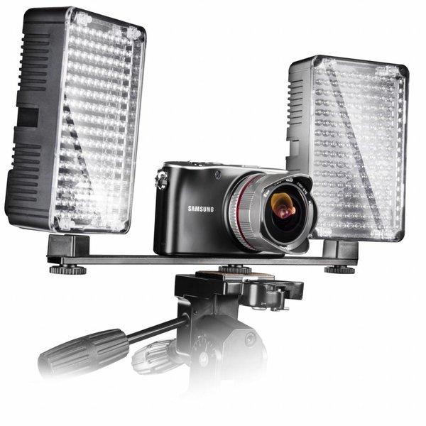 Walimex Auxiliary Bracket 2-voudig voor videolicht