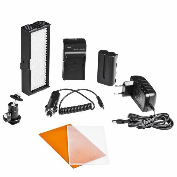 Walimex Pro LED Video Lamp met 192 LED