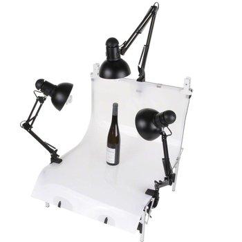 Walimex Shooting Table Daylights Set 3, 3x 125W