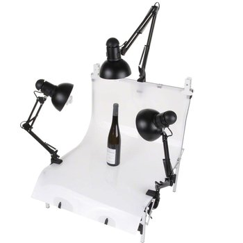 walimex Shooting Table Daylights Set 3, 3x 125W