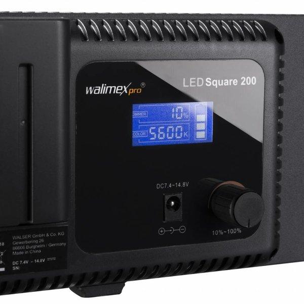 Walimex Pro LED Daylight 200 met Accu