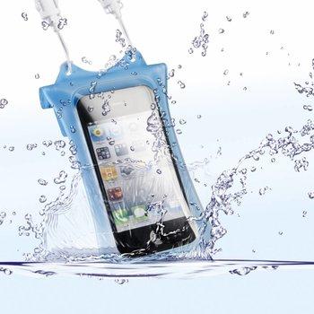 DicaPac Onderwatertas iPhone & iPod, Blauw WP-i10