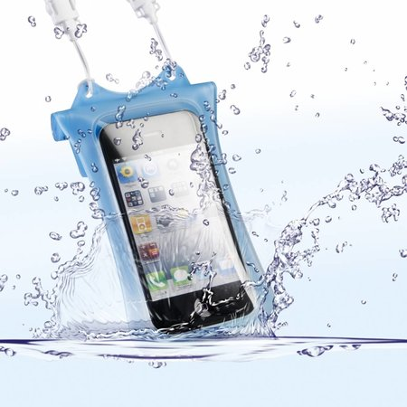DicaPac Onderwatertas iPhone & iPod, Blauw WP-i10