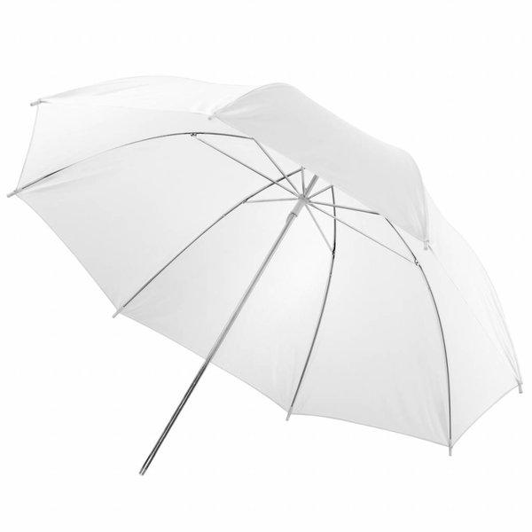 Walimex Doorschijnende Studio Paraplu Wit 84cm