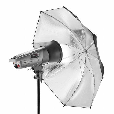 Walimex Reflex paraplu Zilver 84cm