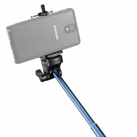 mantona Handstativ Selfy blau für GoPro u.a.