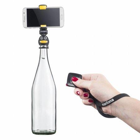 Mantona Smartphone Selfie Fleshouder Pinguïn
