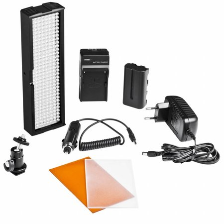 Walimex Pro LED Video Licht met 256 LED