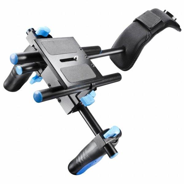 Walimex Pro Handschouderbeugel Videotripod Director I