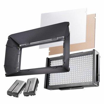 Walimex Pro LED Flächenleuchte Foto und Video Square 312 D