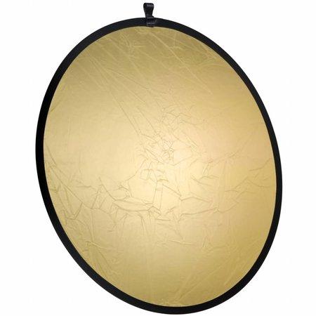 walimex Faltreflektor gold/silber, Ø107cm