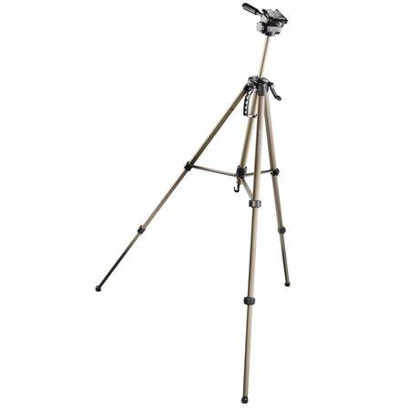 Walimex Camera Statief Basis WT-3530 & 3D Balhoofd, 146cm