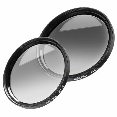 Walimex ND Filter set ND4 & ND8 55 mm