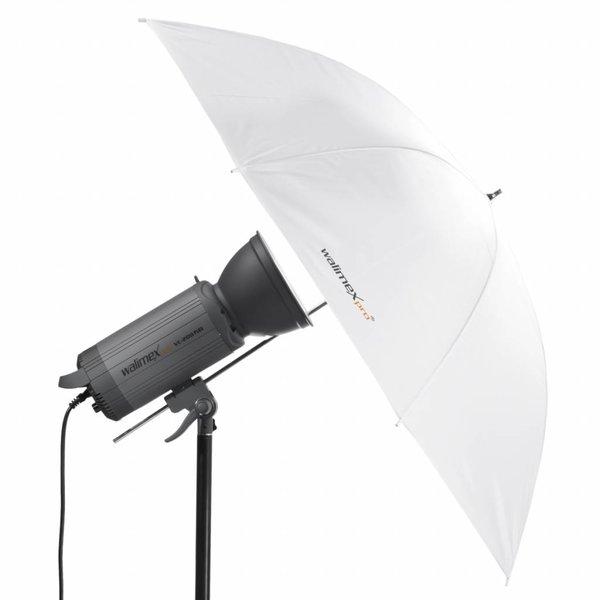 Walimex Pro Doorschijnende Studio Paraplu Wit 109cm