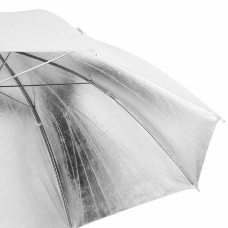 Walimex Pro Reflectie Studio Paraplu Wit/Zilver 109cm