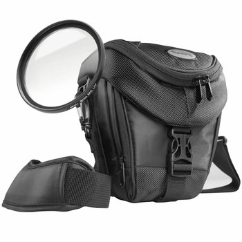 mantona Camera Bag Premium Colt + UV Filter 58mm Kit
