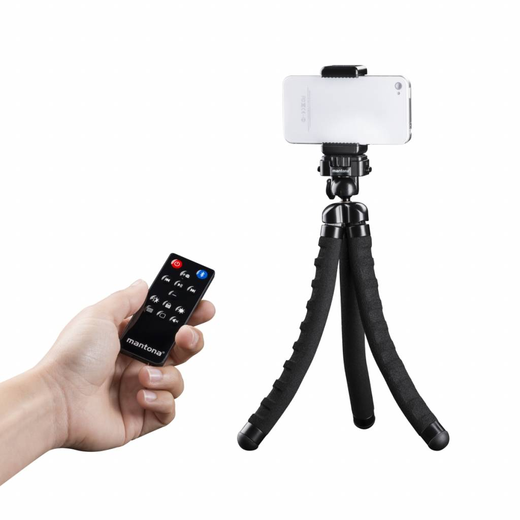 mantona Remote Control Selfy for Iphone, Ipad, etc | walimex-webshop