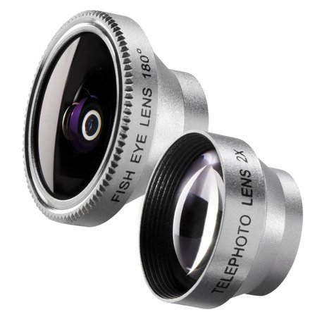 walimex Set Fish-eye and Tele Lens for iPhone