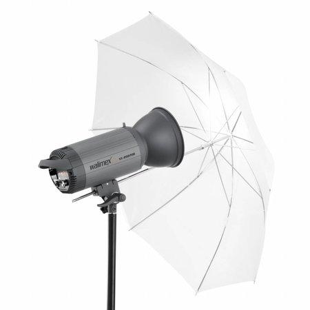 walimex pro Reflex 2in1  Durchlichtschirm weiß 109