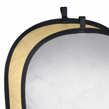Walimex Studio Pop-Up Reflector Golden/Silver, 91x122cm