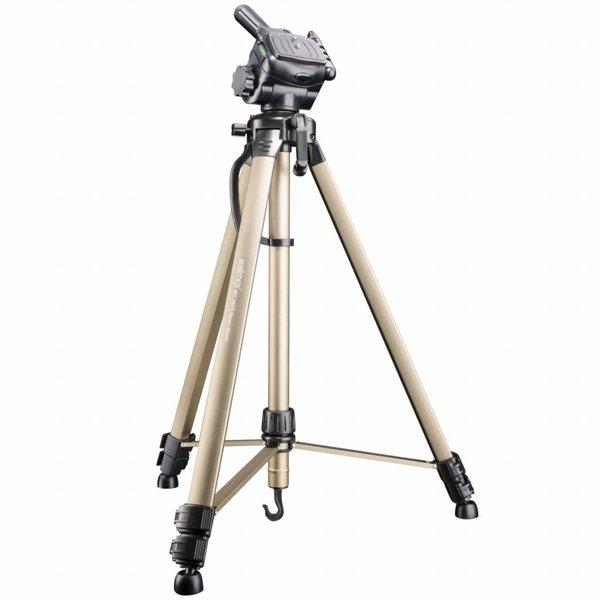 Walimex Camera Statief Basis WT-3570 & 3D Balhoofd, 165cm