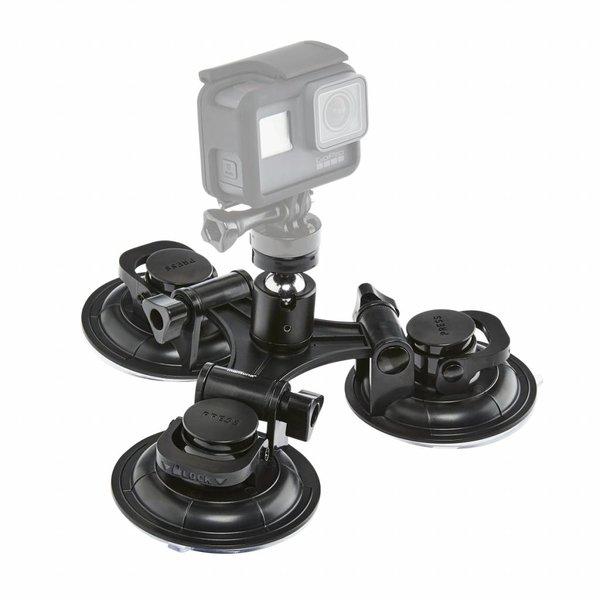 Mantona GoPro Zuignap bevestiging 3 poot fixture XL