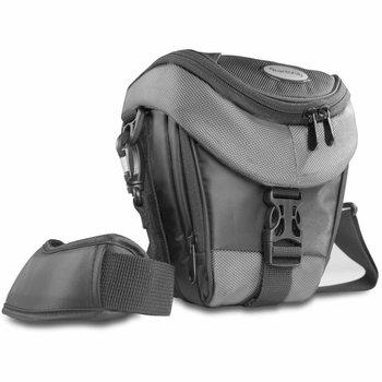 mantona Camera Bag Holster Premium, Black/Gray