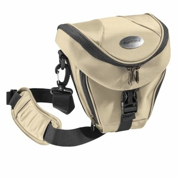 Mantona Camera Bag Holster Premium, Beige