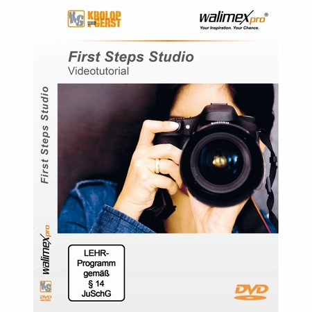 "Walimex DVD ""First Steps Studio"""
