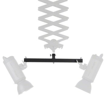 Walimex Double Mounting Bracket for Ceiling Rail
