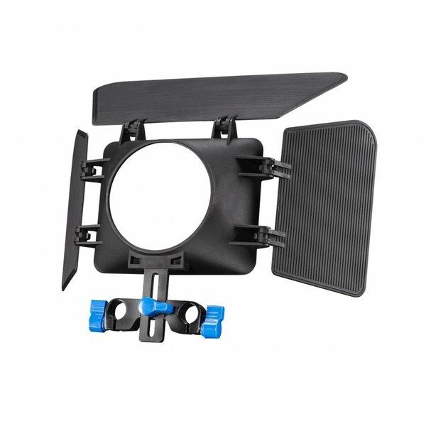 Walimex Pro Matte Box zonnekap M1 voor DSLR beugel
